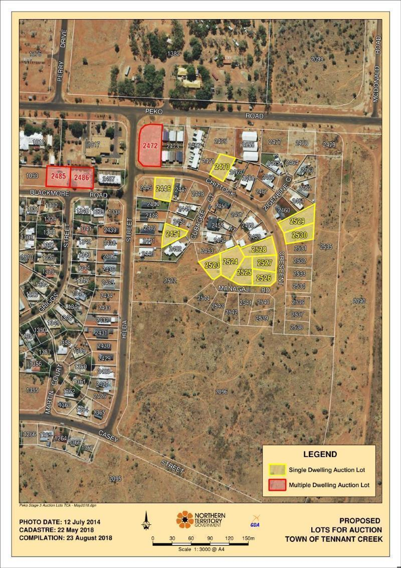 1 Udall Road TENNANT CREEK NT 860 Andrews Property